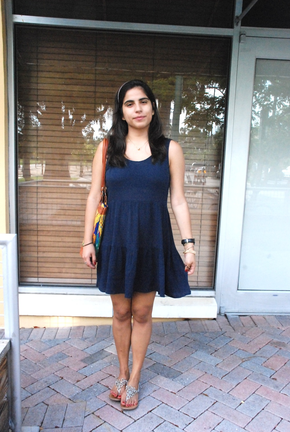 androbel, fashion, ootd, outfit, my style, lace, cute dress, navy, target, target fashion