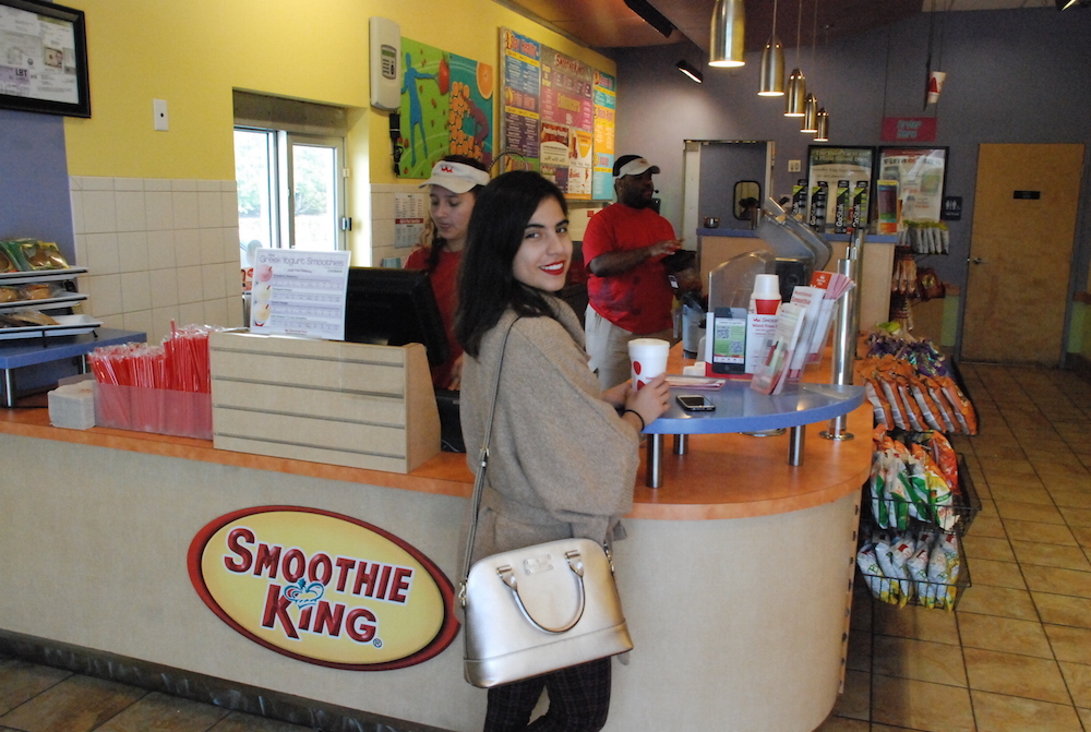 A Hint of Life shares change a meal with smoothie king