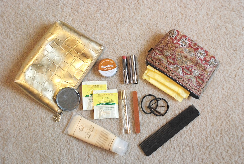 A Hint of Life shares what to carry in your office pouch