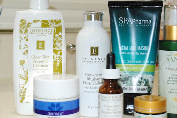 A Hint of Life shares her beauty products and facial routine