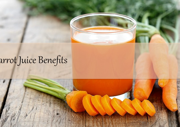 A Hint of Life shares a recipe and carrot juice benefits