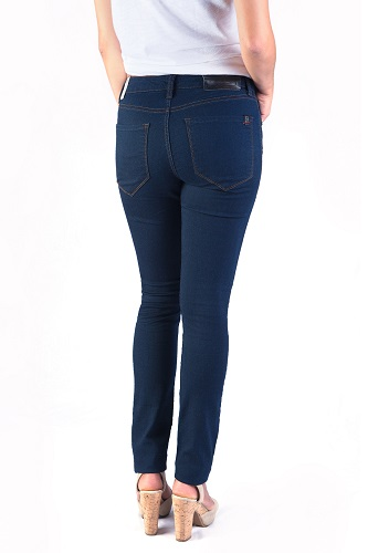 classic blue ultra skinny jeans for women