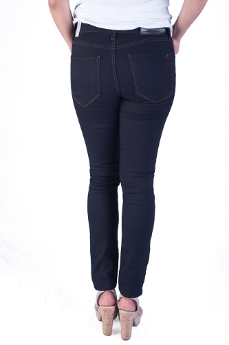 classic black ultra skinny jeans for women