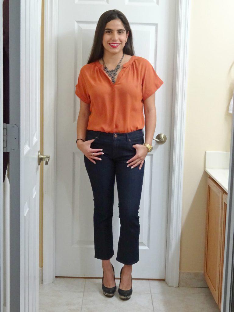 A Hint of Life LILBETTER Women Chiffon Blouse V Neck Short Sleeve Top Shirt Amazon Fashion