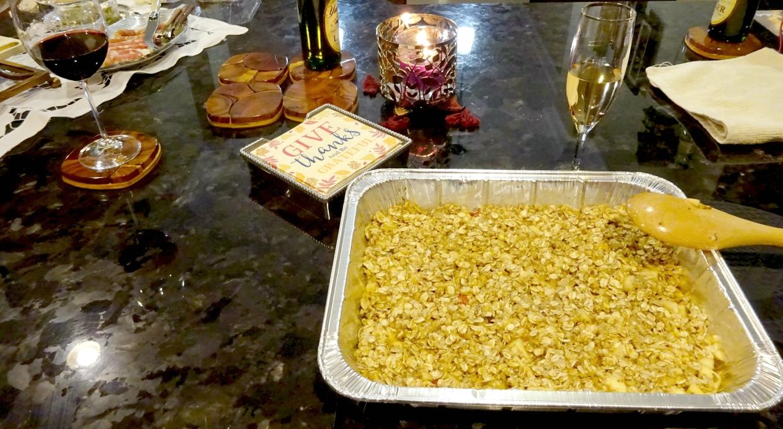Apple crumble recipe. Vegan Recipe up on the Blog