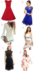 Valentines day dress shopping for under $50