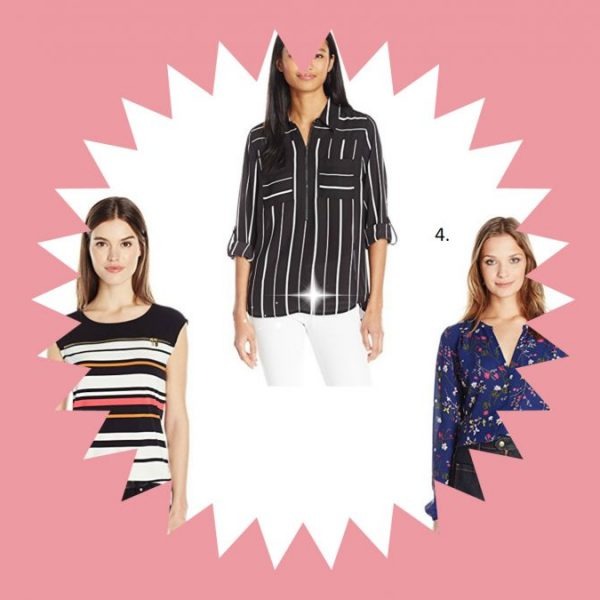 Blouses and Button-Down Shirts from Amazon Fashion on Weekly Finds