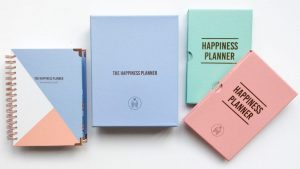 personal development plan with the happiness planner