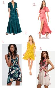 Weekly Finds: Colorful Summer Dresses