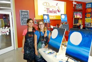 Our Painting With a Twist Experience - A Fun Alternative to Date Night