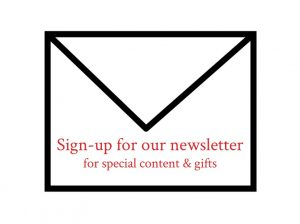 A Hint of Life Newsletter sign-up