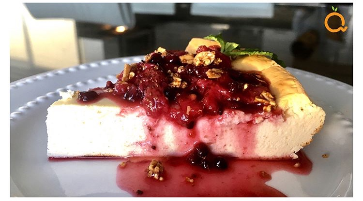 a healthy and easy cheesecake recipe