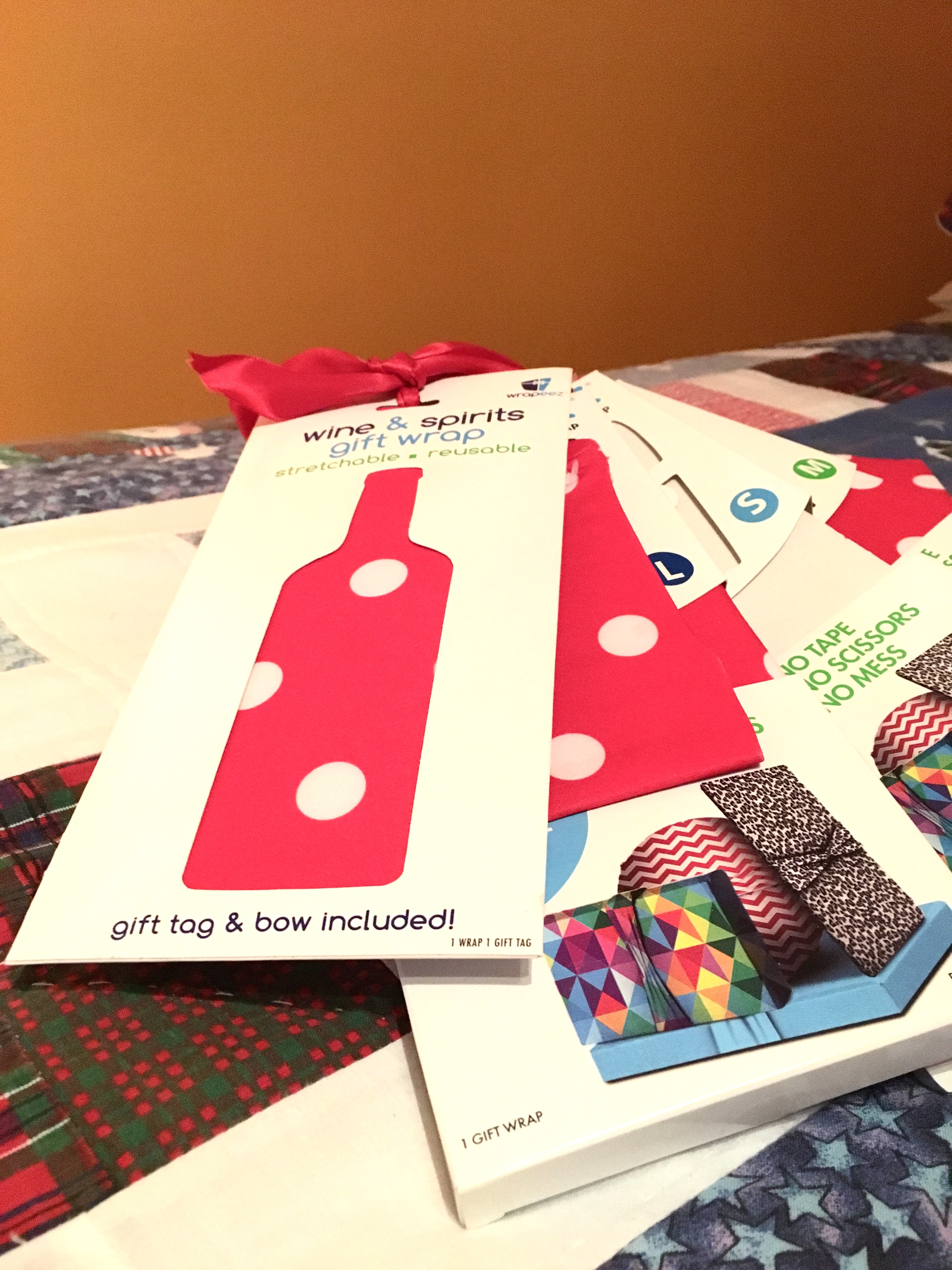 Wrapeez, a reusable, eco-friendly gift wrapping