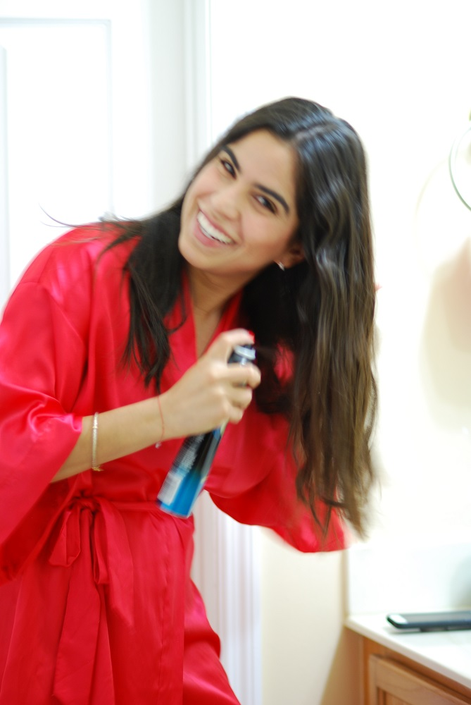 The Hairspray that Styles Without Stiffness