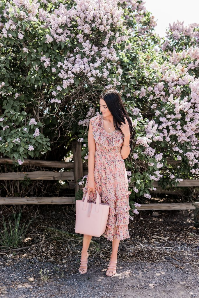 Fashion on a Budget Pink Peonies