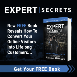 Expert Secrets by Russell Brunson from ClickFunnels